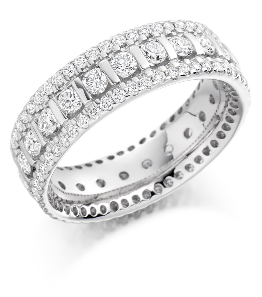 Raphael Jewellery Fet1371 Wedding Eternity Diamond Ring